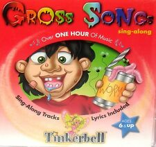 Gross Songs by Peter Pan's Pixie Players Kids Music Sing Along CD Humor Fun Gift