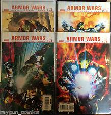 Ultimate Armure Wars #1-4 Set VF+ Marvel Bande-dessinée Warren Ellis