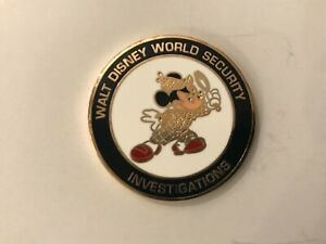 WALT DISNEY WORLD MICKEY MOUSE INVESTIGATIONS CHALLENGE  COIN