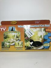 New listing Window Mounted Cat Bed Kitten Pet Sunny Seat Resting Seat Space Saving CatBed 7