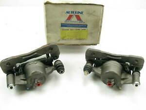 Autoline C5712425 Reman Front Disc Brake Caliper Set For 1990-2000 Honda Civic