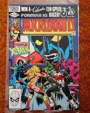 Micronauts #37 Marvel Comics Nightcrawler of Uncanny X-men