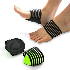 New 2pcs Unisex Cushioned Arch Support Plantar Fascitis Heel Arch Pain Relief