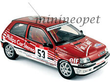 NOREV 185233 1991 91 RENAULT CLIO 16S RACING TOUR DE CORSE #53 1/18 RED