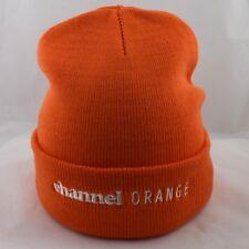 Actual Fact Frank Ocean Channel Orange Hip Hop Roll Up Orange Beanie Hat