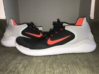 Nike Free RN 2018 942836-005 Running Training Men's Size 12.5 New Black orange