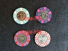 Jetons plaque de Casino Monaco Monte Carlo B&G bourgogne grasset