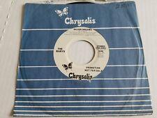 """THE BABYS - Silver Dreams 1977 MONO PROMO 7"""" Power Pop AOR"""