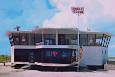 Vintage Dairy Queen Cream Fast Food Padre Texas 1960s (photo print of postcard)