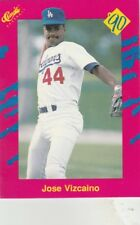 FREE SHIPPING-MINT-Jose Vizcaino Los Angeles  Dodgers 1990 Classic Update T49