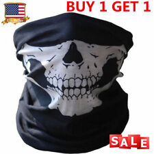 Skull Tubular Mask Bandana Motorcycle Scarf Face Neck Warmer GHOSTS Call of Duty