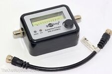 Goobay Sat Finder Satellite Signal Meter - Satellite Dish Alignment Sky Freesat