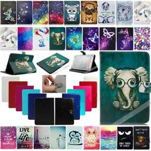 For Amazon Kindle Fire HD 7 8 10 Tablet 2019 Universal Leather Stand Case Cover
