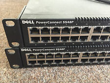 Dell PowerConnect 5548P 48 Port PoE Gigabit Ethernet Switch 2x 10GbE NWJNY L2 1G