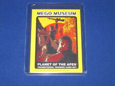 """PLANET OF THE APES POTA MONKEY """"CHECKLIST"""" WGSH MEGO MUSEUM PROMO TRADING CARD"""