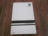 172S Information Manual Cessna Aircraft Airplane Owners Book 172SIM Pilots