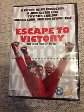 Escape To Victory (DVD, 2007, World Cup Pack) new freepost