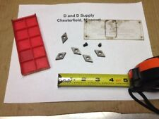 *** Lot of 5 ***, Mitsubishi DCMW 150408, HT110, Carbide Inserts, New-Old-Stock