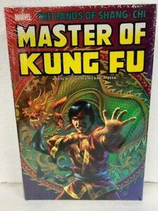 MARVEL SHANG CHI MASTER OF KUNG FU OMNIBUS VOL 2 Hardcover HC - NEW MSRP $125