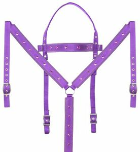 Western Headstall Used Breast Collar Reins Barrel Racing Trail Horse Tack Set