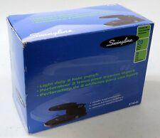 Swingline Light Duty 2 Hole Paper Punch 20 Sheetsblack Metal 74045 Nib