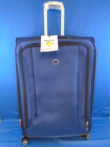 Delsey Luggage Helium Aero 29 4 Wheel Expandable Luggage, Cobalt