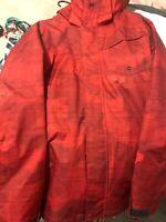 Quicksilver Dri-Flight Snowboard Jacket Mens Medium. Great Condition Size Medium