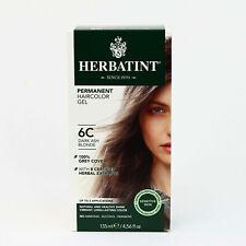 Herbatint Permanent Herbal Hair Color Gel, 6C Dark Ash Blonde, 4.56 Ounce