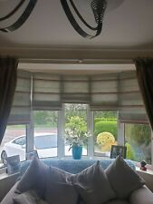 Roman blinds used