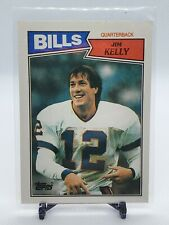 1987 Topps Football #362 Jim Kelly RC (Bills) (Rookie)