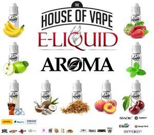⭐ House of Vape ⭐ Aroma Konzentrat für E Liquid Eliquid E-Liquid 10ml 30ml 100ml
