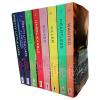 Pretty Little Liars 8 Books Young Adult Collection Paperback Set By Sara Shepard