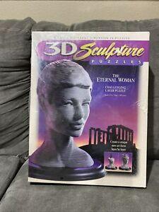 3D SCULPTURE LAYER PUZZLE THE ETERNAL WOMAN (1996) MILTON BRADLEY Sealed