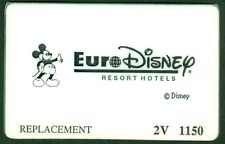PASSEPORT EURO DISNEY PARIS  PASS REMPLACEMENT BON ETAT  N°36