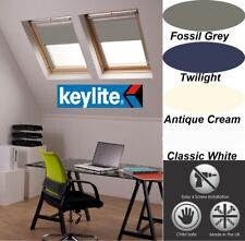 GENUINE BLACKOUT ROLLER ROOF BLINDS FOR NEW KEYLITE WINDOWS WITH T AND P CODES