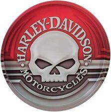 Harley-Davidson Willie G. Skull Tin Serving Tray 12