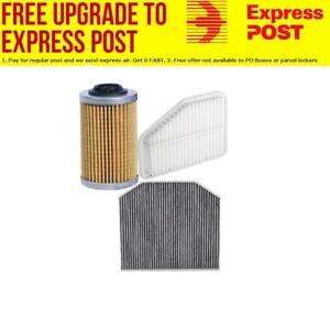 Filter Service Kit FOR HOLDEN Commodore VE VF V6 AIR OIL CABIN - EXPRESS POST