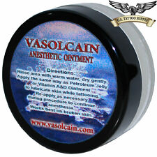 Vasolcain Anesthetic Ointment 10% Lidocaine (0.75oz / 20 ml Jar)