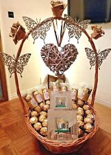 Ferrero Rocher Chocolate Basket, Hamper  Collections Perfect all Occasions