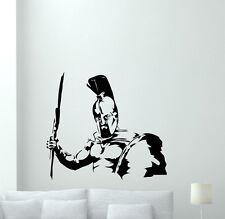 Gladiator Wall Decal Rome Warrior Teen Room Vinyl Sticker Art Decor Mural 177xxx