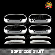 For Ford F-150 Heritage 2004 Chrome 4 Doors Handles Covers W/Out Passenger Kh