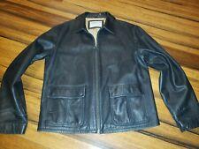 Timberland full zip Leather Jacket - Mens XLarge
