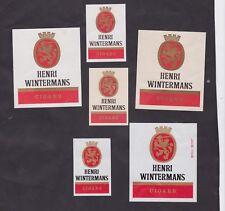 Ancienne étiquette  allumettes Belgique BN30115 Cigares Henri Wintermans