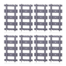 18pcs Straight Train Track Rail Extension Railway Line Non-Powered For Block Toy
