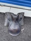 leather Collegiate English Saddle black