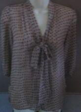 Career Polka Dot 3/4 Sleeve Machine Washable Tops & Blouses for Women