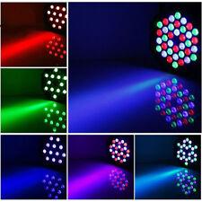 72w 36 LED RGBW Sound Active Par Stage Strobe Solar Light Dmx-512 Party DJ Disco AU