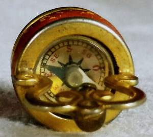 ANTIQUE COMPASS, VICTORIAN ERA, MID-TO LATE 19TH CENTURY, MINIATURE, FRENCH MADE