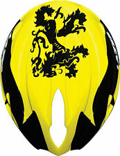 Lazer Helium Aero/Rain Shell Lion of Flanders: Yellow/Black~ XL (xl-xxl)