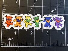 Grateful Dead Dancing Bears Sticker Decal music band bumper car Jerry Garcia